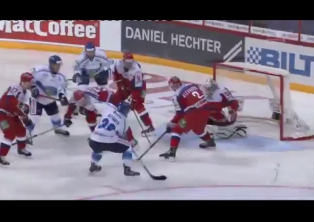 First Finnish goal